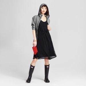 Hunter/Target Black Mesh A-Line Dress NWT